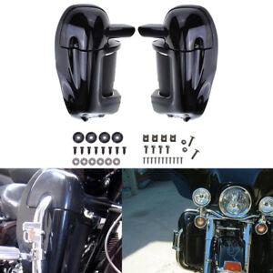 2 ×Beinschilder Verkleidung Lower Fairing Fit Für Harley Road King Electra Glide