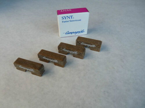 Campagnolo Record Brake Pads 4 Synt Sinterized Pads Vintage Bicycle NOS