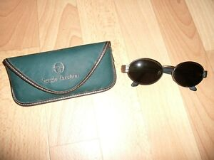 Sergio Tacchini Herren Damen Designer Sonnenbrille Sunglasses Gold + Etui Italy