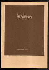 LIBRO D'ARTISTA R. CARRIERI MIELE DEI DESERTI 1983 BANDINI LITO SALVATORE FIUME