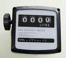 4 Digital Diesel Fuel Oil Flow Meter Counter High Accuracy 1