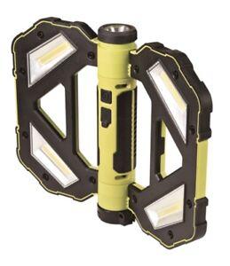 Powerplus 3.7v Li-ion Rechargeable 80 LED Foldable Magnetic led bat light torch
