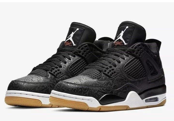 601051bb0986 Men s Size 13 Nike Nike Nike Air Jordan 4 Retro 30th Black Laser CI1184-001
