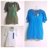 Kersh Short Sleeves Blue Polyester/cotton Free Shipping M22