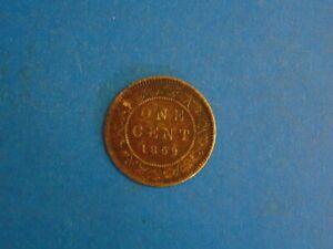 Canada-Cent-KM-1-1859-no-mint-mark-A597-I-COMBINE-SHIPPING
