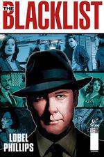 NBC'S THE BLACKLIST #3 A ART COVER TITAN COMICS JAMES SPADER TV SERIES 1ST PRINT