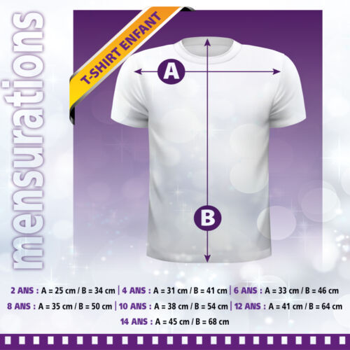 Tee-shirt enfant AVANGERS personnalisé avec prénom anniversaire enfant