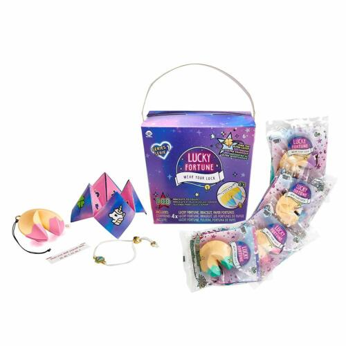 WowWee Lucky Fortune Blind Collectible Bracelets 4 Pack Take-Out Box  Series 1