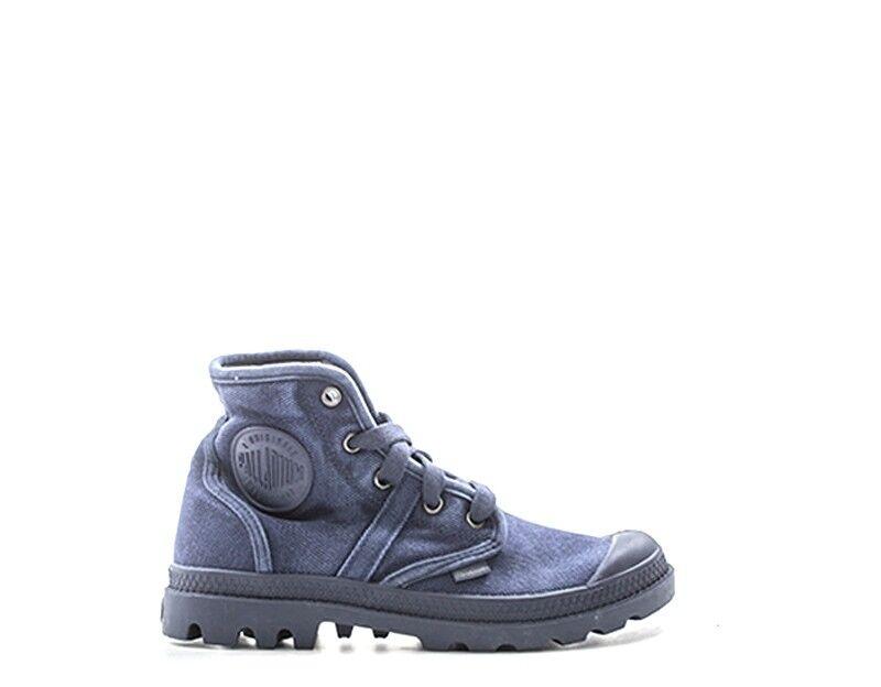 Schuhe PALLADIUM Frau Blau Stoff PACAL0010-P490S