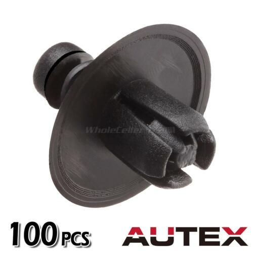 100pcs Push-Type Retainer Door Trim Panel Clip Fastener for Dodge Charger Magnum