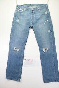 501 Jeans Levi's Alta Usato cod Vita W36 Destroyed L34 M1491 Tg50 0qdxqrHw