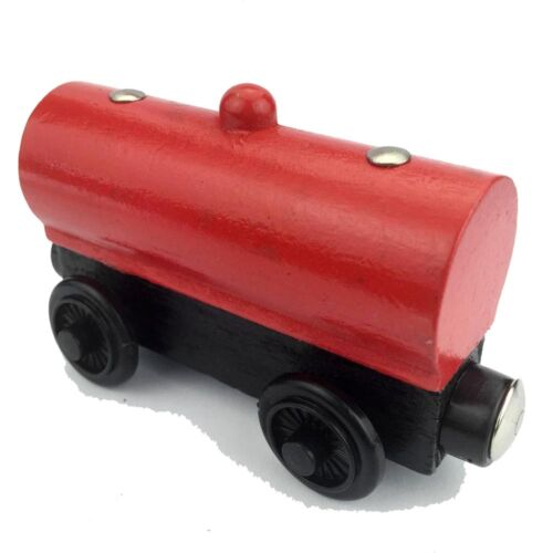 Railway Train Car Toys The Tank Engine Tender Wooden Magnetic Truck Kids Gift*