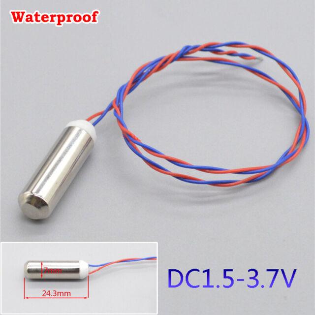 DC 1.5V-6V Micro Waterproof Vibration Motor Coreless Motor Vibrator for Massager