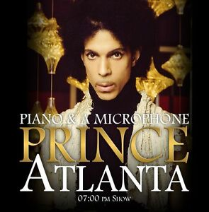 PRINCE-CD-Atlanta-Piano-amp-A-Microphone-Final-Show-Archive-NEW-2016