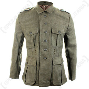 WW2 German M41 Field Grey Tunic - Repro Army Soldier Uniform Jacket ... 2e8489b168