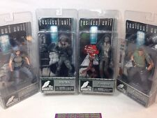 NECA Resident Evil 10th Anniversary Series 1 Jill Valentine Chris Redfield Hunk