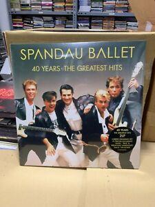 Spandau Ballet 2 LP 40 Years The Greatest Hits Versiegelt 2020
