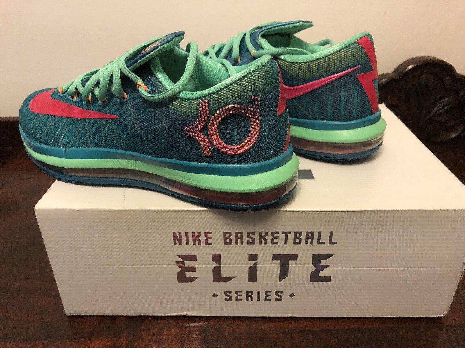 Nike KD VI 6 Elite (642838-300) Hero Collection Turbo Green/Pink Size 7.5