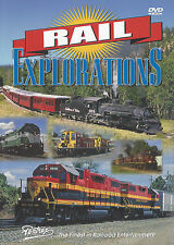 Rail Explorations DVD Cumbres & Toltec, Grand Canyon Railway and More Pentrex