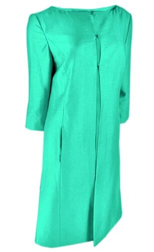 Green Boutique Lined Coat Dress Sizes Ladies And Emerald 14 Fully 8 7gHZ0W0B