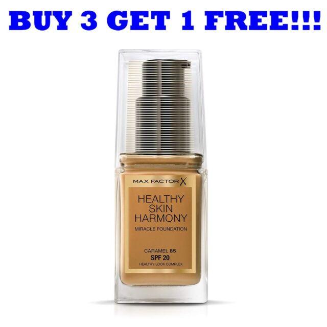 Max Factor Foundation Healthy Skin Harmony 30ml Caramel 85