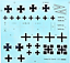 Roden-010-German-airplane-Fokker-DrI-World-War-I-1-72-scale-model-kit-100-mm miniature 12