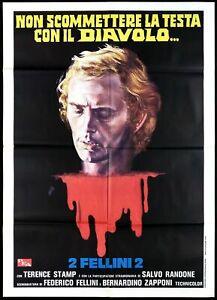 Tre passi nel delirio MANIFESTO FILM HORROR spiriti dei morti film.