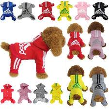 Cute Medium M Red Adidog Jumpsuit Girl Dog Dress Clothes Accessories Cheap