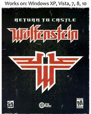 Return to Castle Wolfenstein + Elder Scrolls: Arena + Daggerfall PC Game