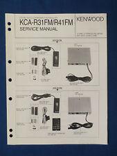 Kenwood Service Manual~KCA-R200 CD Changer Controller~Original Repair Manual