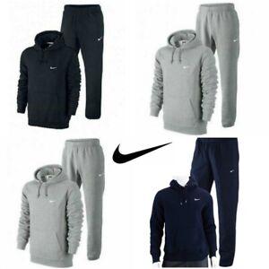 Nike-Mens-Full-Tracksuit-Fleece-Hooded-Jogging-Bottms-Joggers-S-M-L-XL