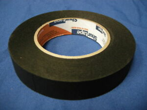 NEW-SHURTAPE-P-743-BLACK-PHOTOGRAPHIC-MASKING-TAPE-1-034-x-60YDS-MADE-IN-USA