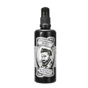 Solomons Beard Beard Soap - Bart Shampoo Black Pepper 100 ml