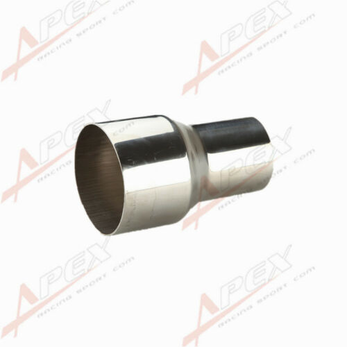 Universal Exhaust Pipe Adapter Connector Reducer Stainless Steel