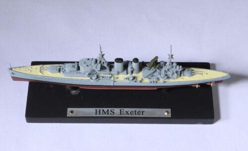 Atlas WWII British Royal Navy HMS Exeter York-class Heavy Cruiser 1//1250 Model
