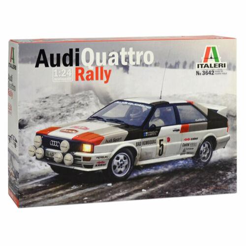 ITALERI Audi qurattro Rally 3642 1:24 Modèle De Voiture Kit