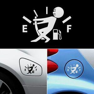 Funny-Car-Sticker-Pull-Fuel-Tank-Pointer-To-Full-Hellaflush-Reflective-Vinyl
