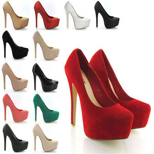 NEW-WOMENS-CONCEALED-PLATFORM-LADIES-STILETTO-HIGH-HEELS-COURT-SHOES-SIZE-3-8