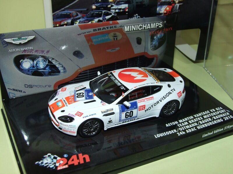 ASTON MARTIN VANTAGE V8 GT4 N°60 24 H Nurburgring 2010  1 43