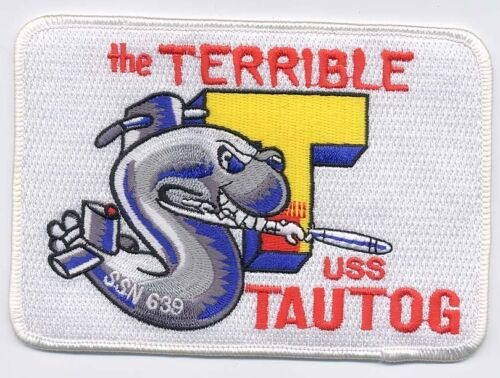 Terrible T BC Patch Cat No C5947 USS Tautog SSN 639