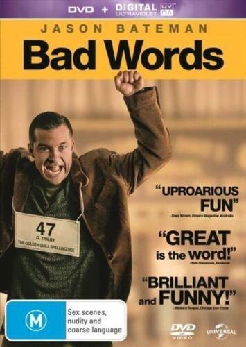 1 of 1 - Bad Words-DVD VERY GOOD CONDITION FREE POSTAGE AUSTRALIA NO UV CODE REGION 4