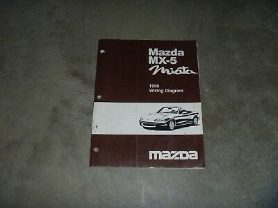 [DIAGRAM_38EU]  1999 Mazda MX-5 Miata Convertible Electrical Wiring Diagram Manual Sport  Touring | eBay | 1999 Mazda Wiring Diagram |  | eBay