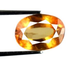 Padparadscha Orange Sapphire 2.80 Ct Oval Natural Birthstone Certified A22529