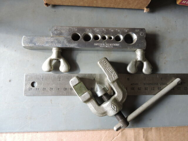 Imperial Tool 500FC 45 Degree Flaring Tool 3//16 to 5//8