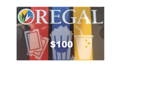 100 Regal Theater Gift Card Save 20 Now New Unused 100 Guarantee Ebay