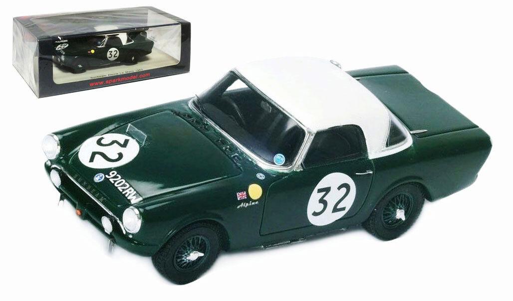 SPARK S4764 TALBOT SUNBEAM ALPINE  52 Le Mans 1963-Lewis Ballisat échelle 1 43