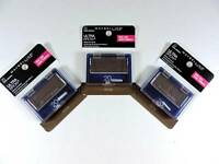 3x Maybelline Ultra-brow Powder 20 Dark Brown Eyebrow Color Makeup 404