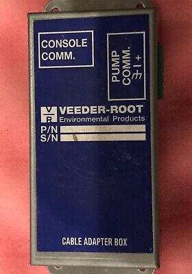 Lot of 10 Veeder-Root TLS-350 Cable Adapter Box Console Comm-All As Shown