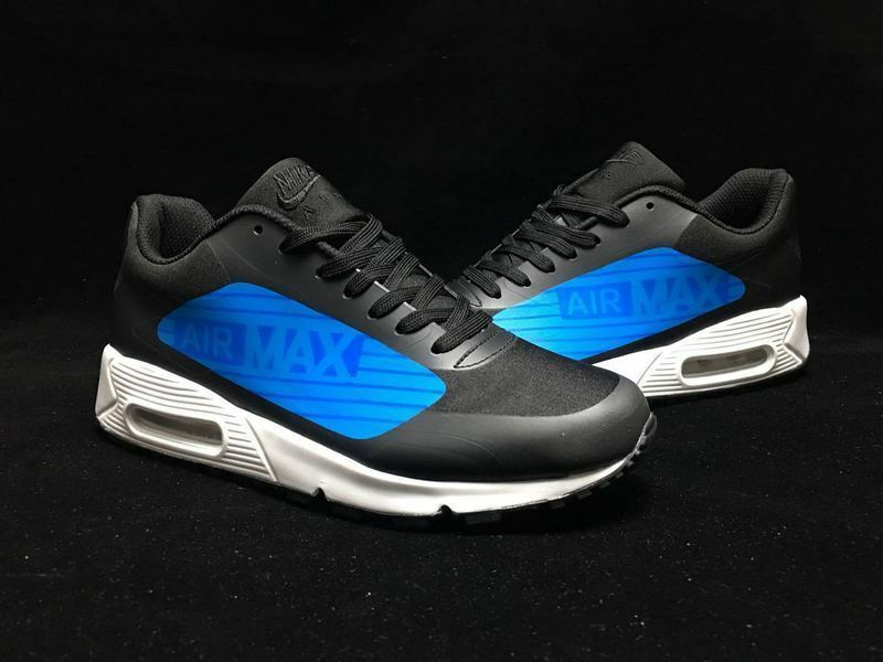 NIKE AIR MAX 90 NS GPZ MEN'S SIZE 15 RUNNING SHOES BLACK LASER blueeE AJ7182 002