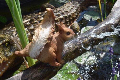 Eichhörnchen Tierfigur Wald Gartenfigur Wohnung Nagetiere Deko Figur Tier Nager